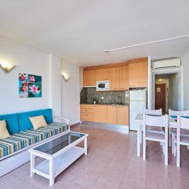 living room apartment 1 room Inter 2 Salou