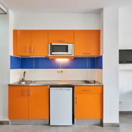 Studio kitchen Aparthotel Inter 2 Salou