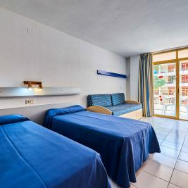 2 beds Studio 1-2 persons Aparthotel