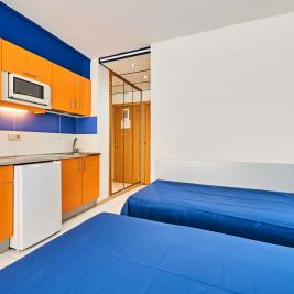 2 beds Studio 1-2 persons Aparthotel Inter2