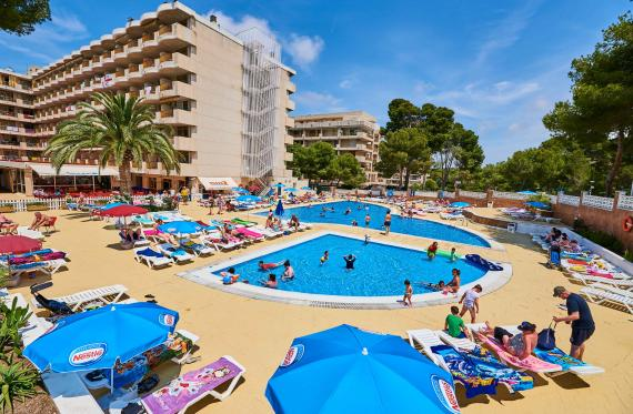 Piscine dell'Aparthotel Inter 2 Salou