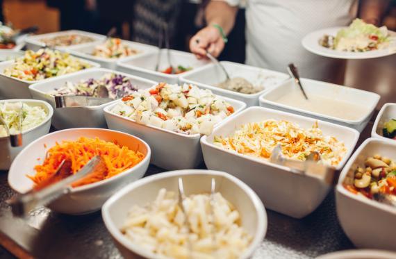 Restaurante con buffet libre en Salou