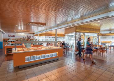 Ristorante self service  all'Aparthotel Inter 2 Salou